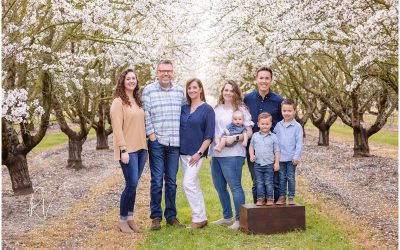 The Best Time for Family Photos San Joaquin County CA