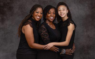 Celebrating Women with Treasured Multi-Generational Family Photos