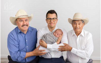 Meaningful Generational Newborn Portrait Session | Ripon, CA